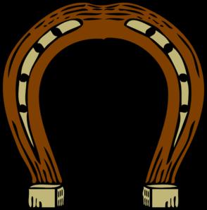 294x298 Horseshoe Clip Art