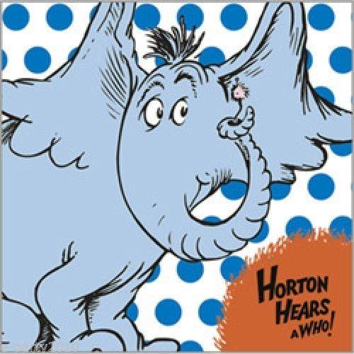 500x500 Horton Hears A Who Dr Seuss 16 Paper Lunch Napkins Hallmark Party