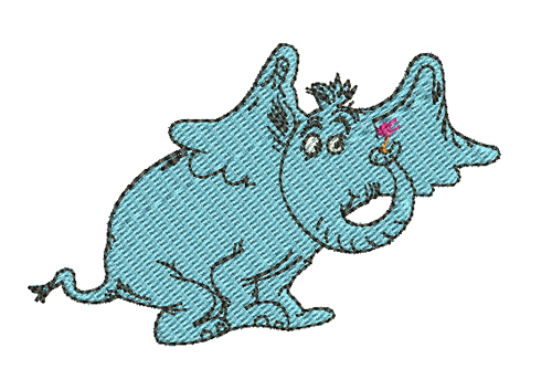 500x334 Horton Hears A Who Embroidery Design By Stitcheroo Designs.