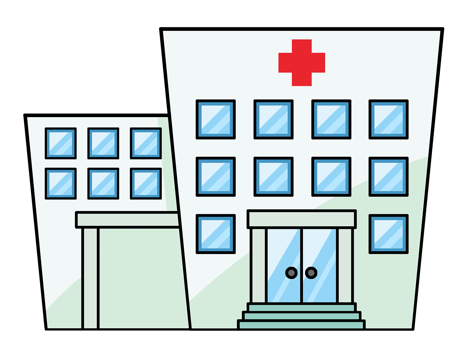 hospital building clipart at getdrawings com free for clipart guy thinking cool guy clipart