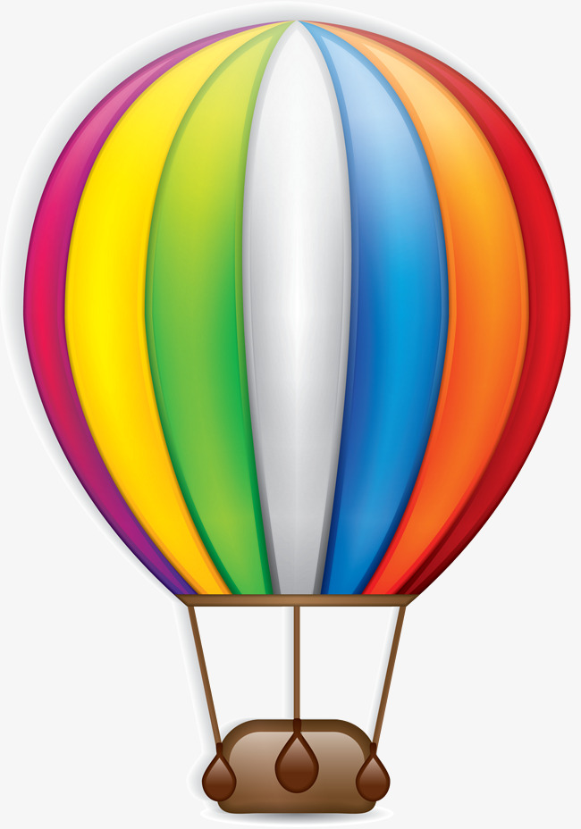 650x928 Colorful Cartoon Hot Air Balloon, Colourful, Cartoon, Hot Air