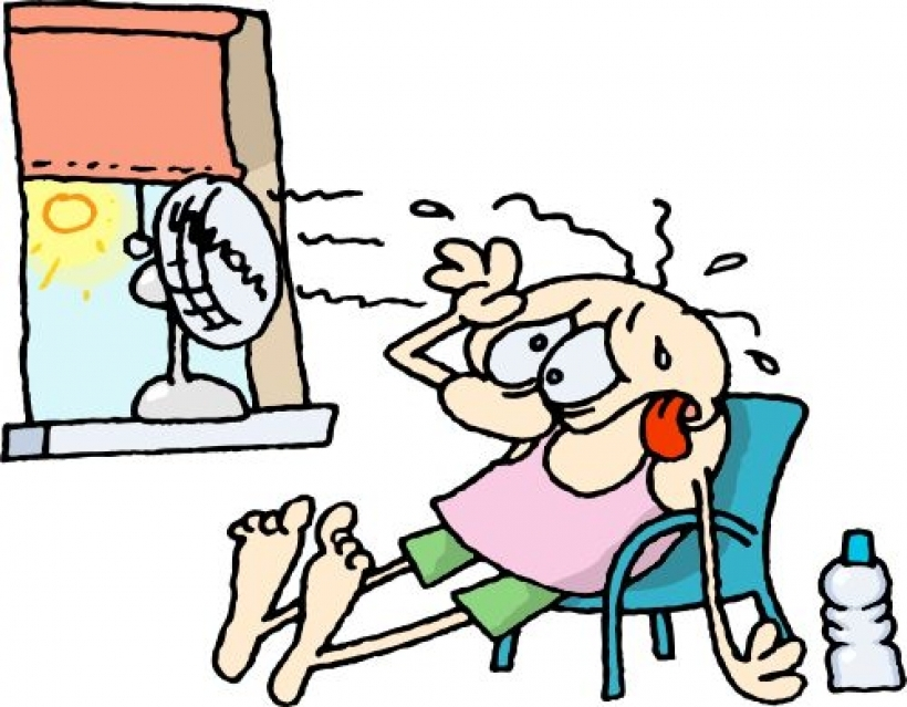 820x639 Funny Heat Wave Clipart With Regard To Summer Heat Clipart Summer