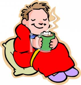 286x300 Drinking Hot Chocolate Clipart