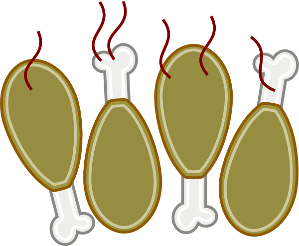 600x493 Image Of Bbq Chicken Clipart