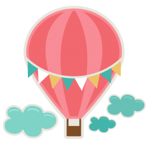 300x300 Extremely Hot Air Balloon Clip Art Free Svg Cutting File