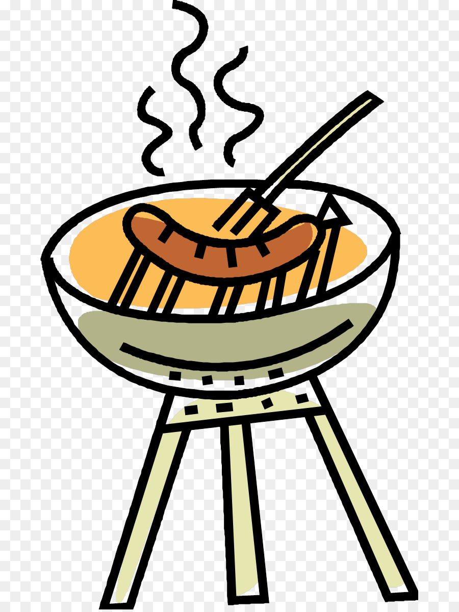 900x1200 Sausage Sizzle Barbecue Hot Dog Clip Art