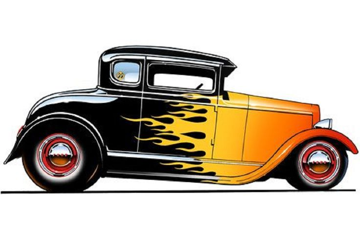 736x505 174 Best Hotrod Clip Art Images On Cars Toons
