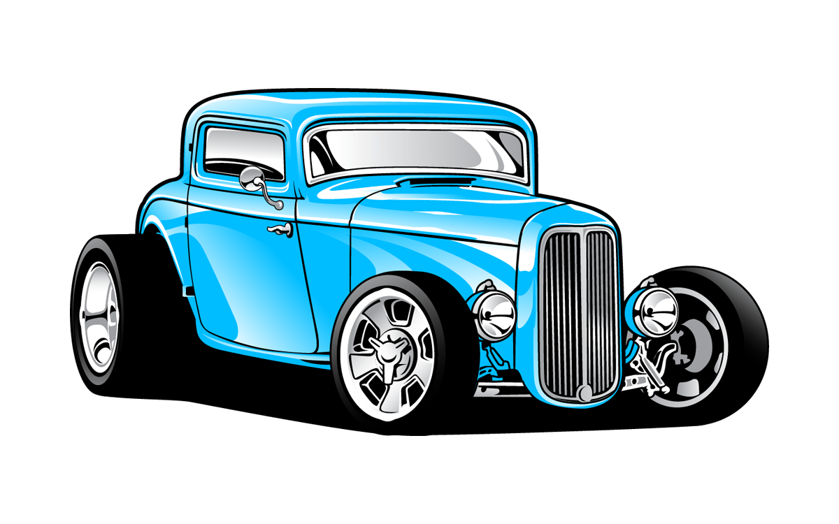 1200x750 1932 Ford Car Hot Rod Clip Art