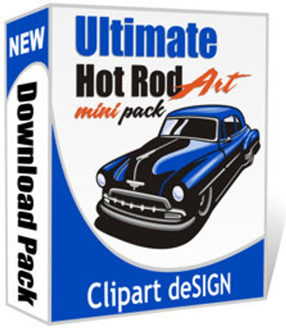 570x654 414 Hot Rod Vector Clip Art Vinyl Ready Decal Designs Free