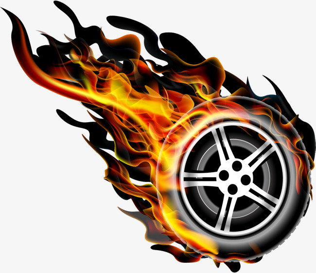 650x561 Flame Fire Wheel, Vector Material, Fire Wheel, Flames Png