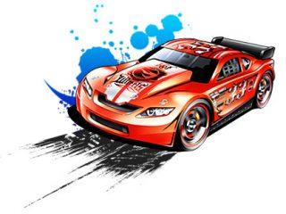 320x240 Hot Wheels Cartoons Hot Wheels Clipart Cartoon Pencil And In Color