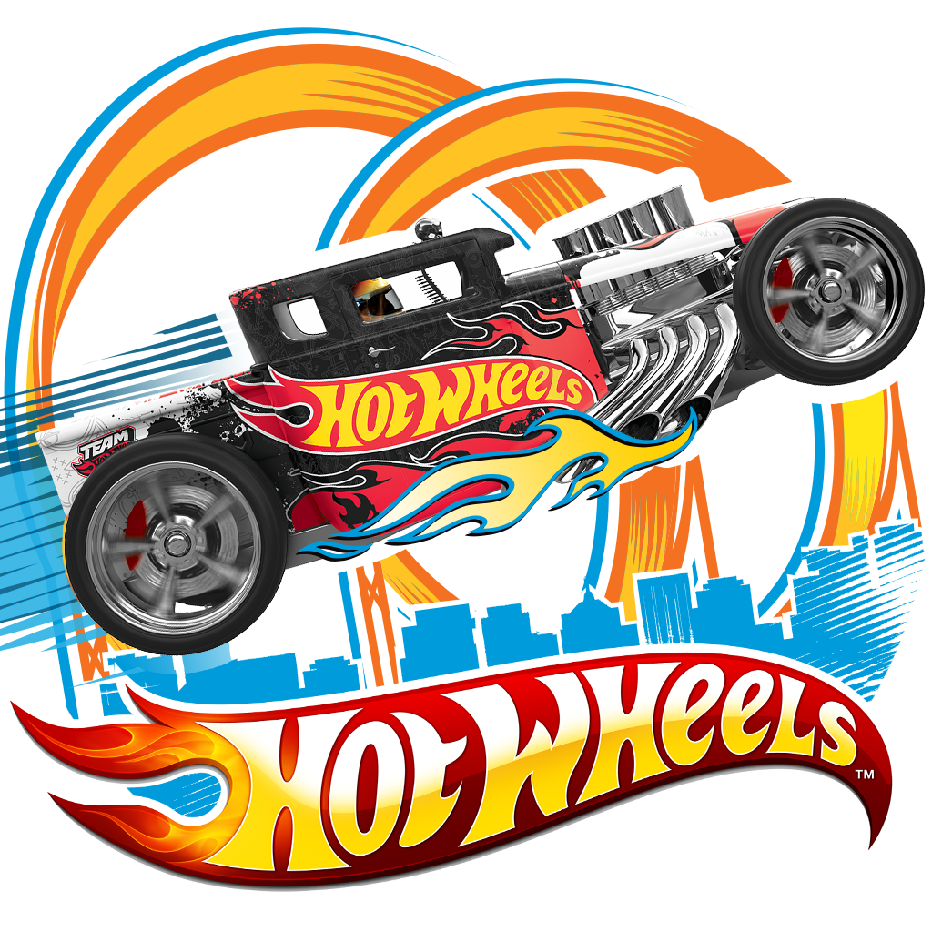 1024x1024 Hot Wheels Logo Clipart Free Image