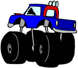250x217 Monster Truck Clip Art Hot Wheels Truck Clipart Panda