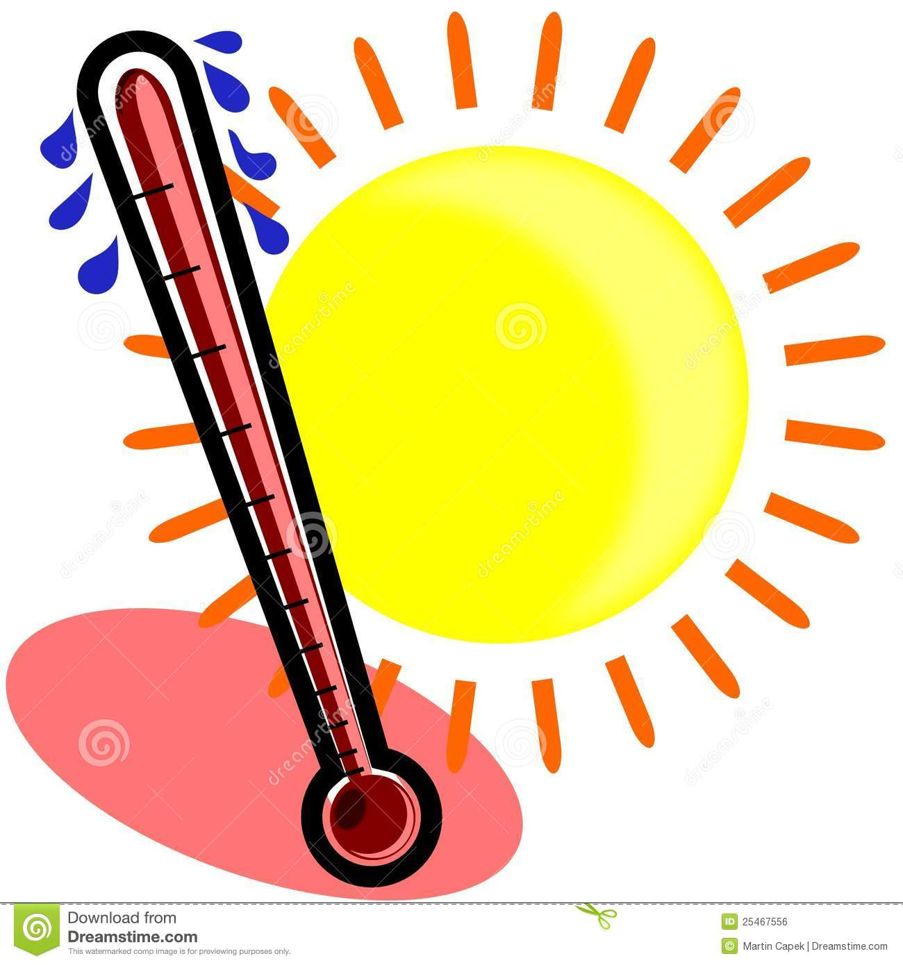1300x1390 Clipart Hot Thermometer
