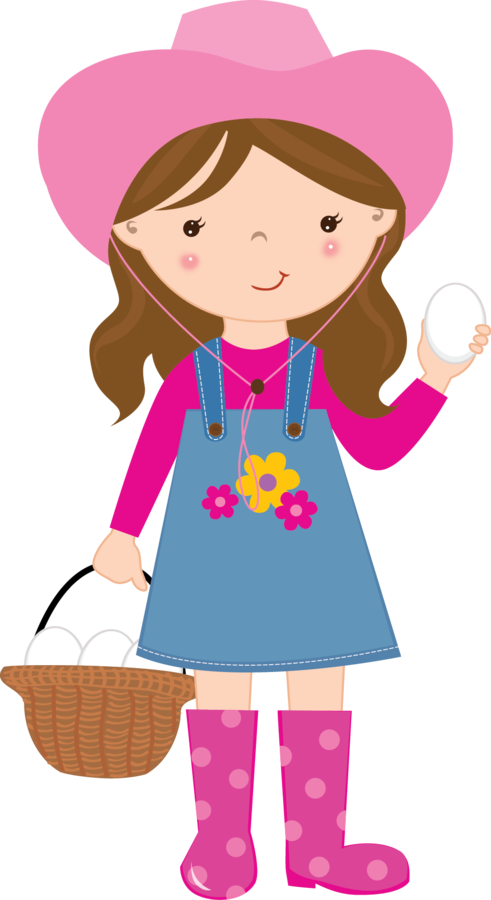 491x900 Cute Farm For Girls Clip Art. Oh My Fiesta! In English