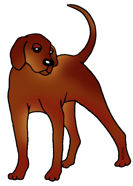 462x648 United States Clip Art By Phillip Martin, North Carolina State Dog