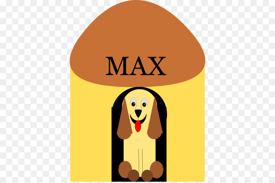900x600 Basset Hound Puppy Doghouse Clip Art