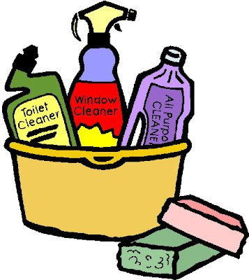 357x400 Deluxe House Cleaning Clipart