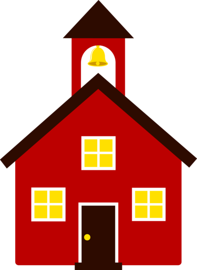 401x550 Free Clip Art Of An Old Fashioned Little Red School House Sweet