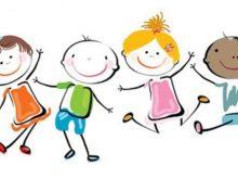220x165 Happy Kids Clipart Happy Kids Clip Art Clipartsco Cards
