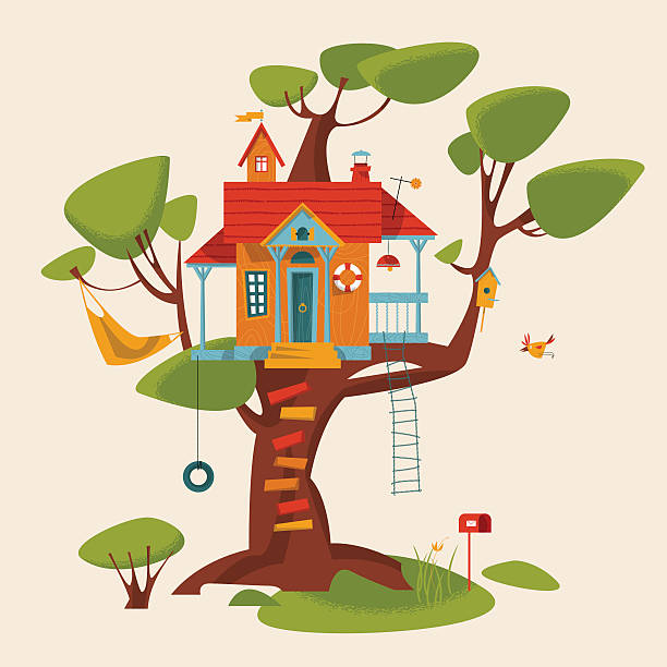 612x612 Superb Tree House Clipart Free To Use Public Domain Clip Art