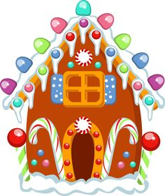 236x281 Gingerbread House Clipart