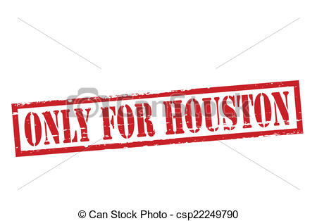 450x314 Rubber Stamp With Text Only For Houston Inside, Vector Eps