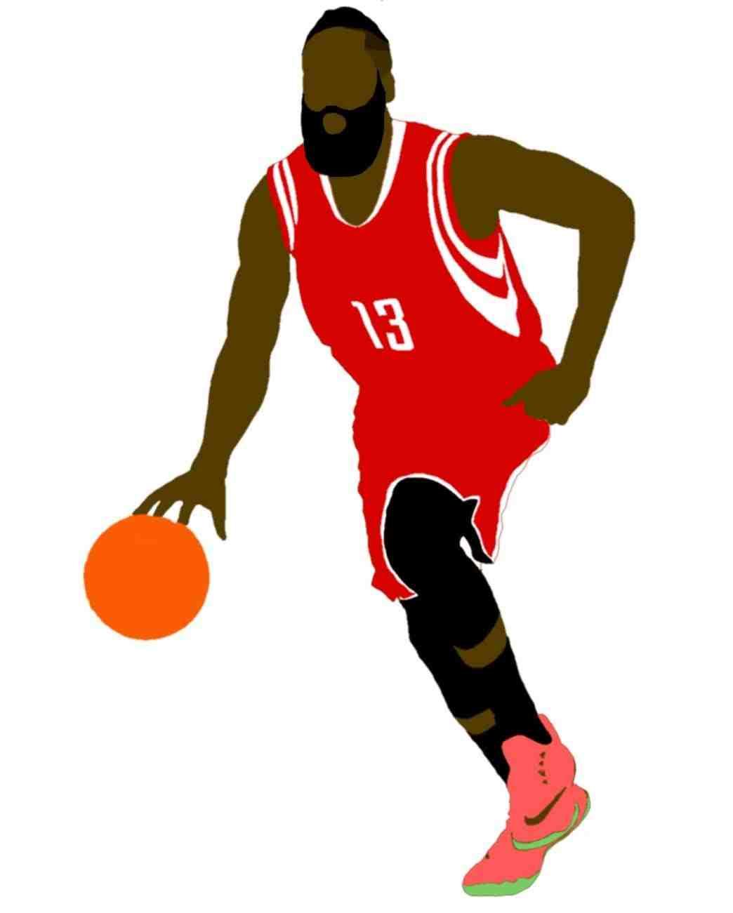 1044x1301 Red Basketball Clipart Htdevesign
