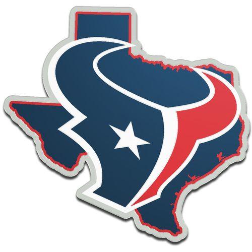 500x500 Stockdale Houston Texans Acrylic State Shape Auto Emblem Academy