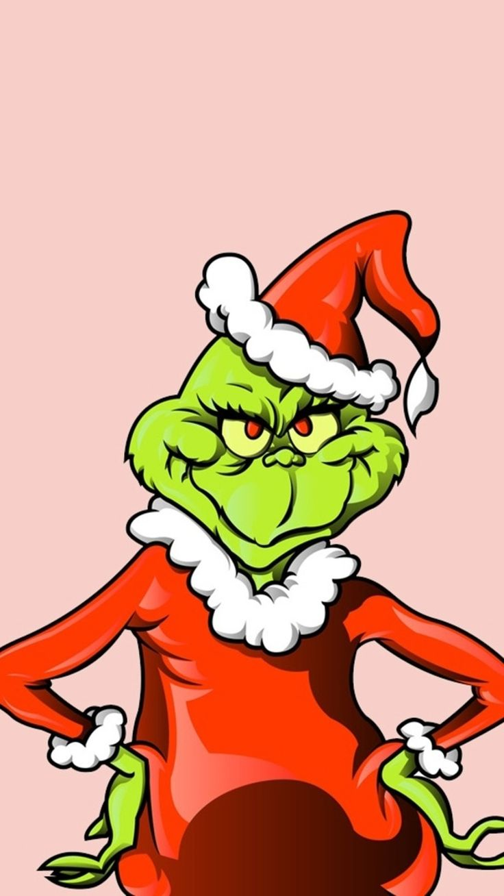736x1308 Ingenious Grinch Clipart Iphone