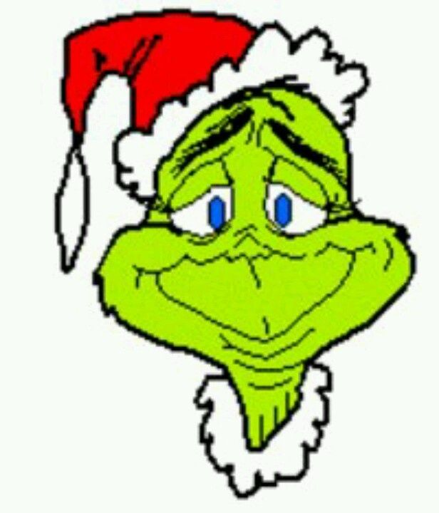 616x720 Printable Grinch Clip Art The Who Stole Christmas
