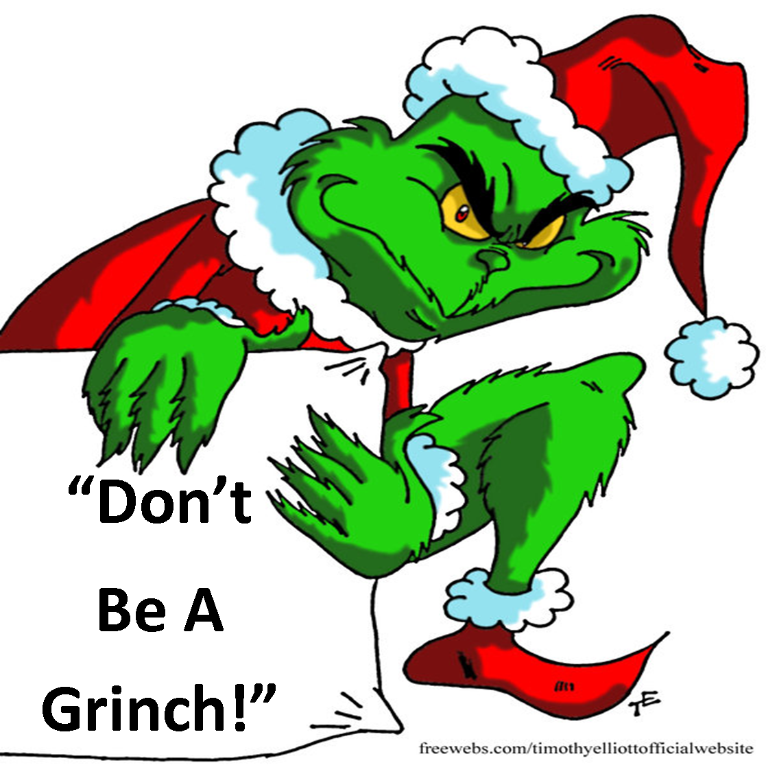 1117x1131 The Grinch Clipart