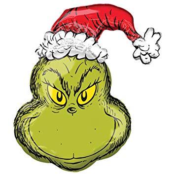 355x355 How The Grinch Stole Christmas Super Shape Foil