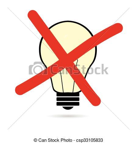 450x470 Lightbulb Cartoon Vector Create On White Background Vectors