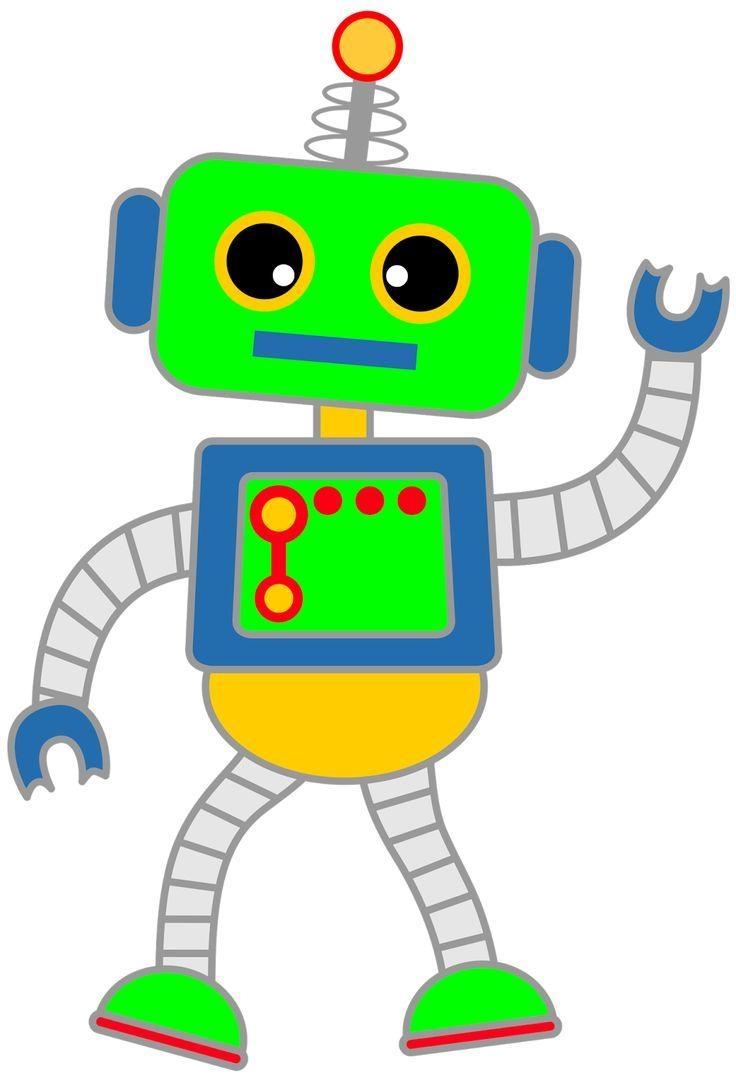 736x1080 New Robot Clipart Design