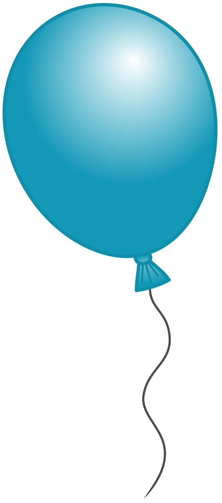 705x1600 Red Balloon Clip Art Clipart Image 4 5