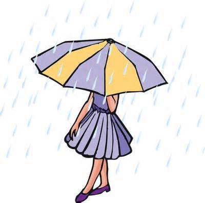 400x396 Rain Clip Art