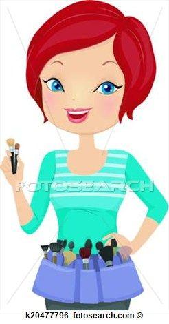 246x470 Makeup Artist Clip Art Clip Art