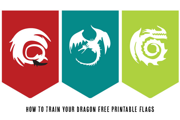 600x400 Free Printables How To Train Your Dragon