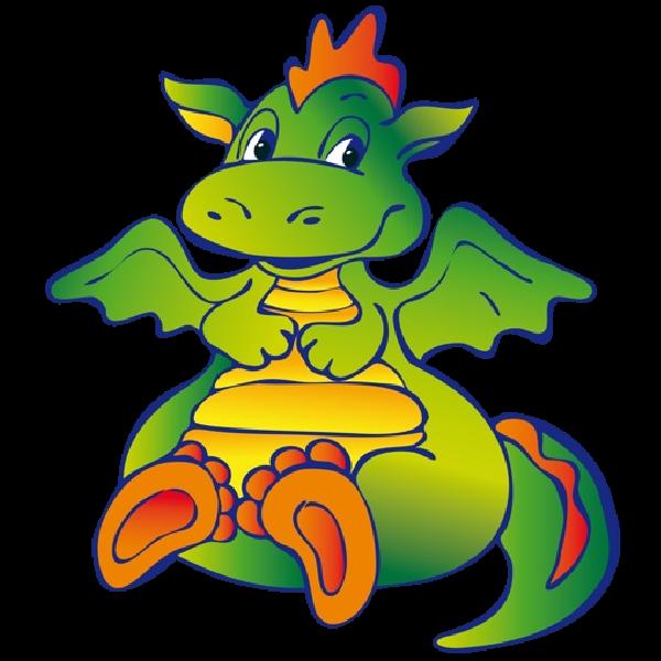 600x600 Funny Dragons Dragon Cartoon Images Clipart 2.png