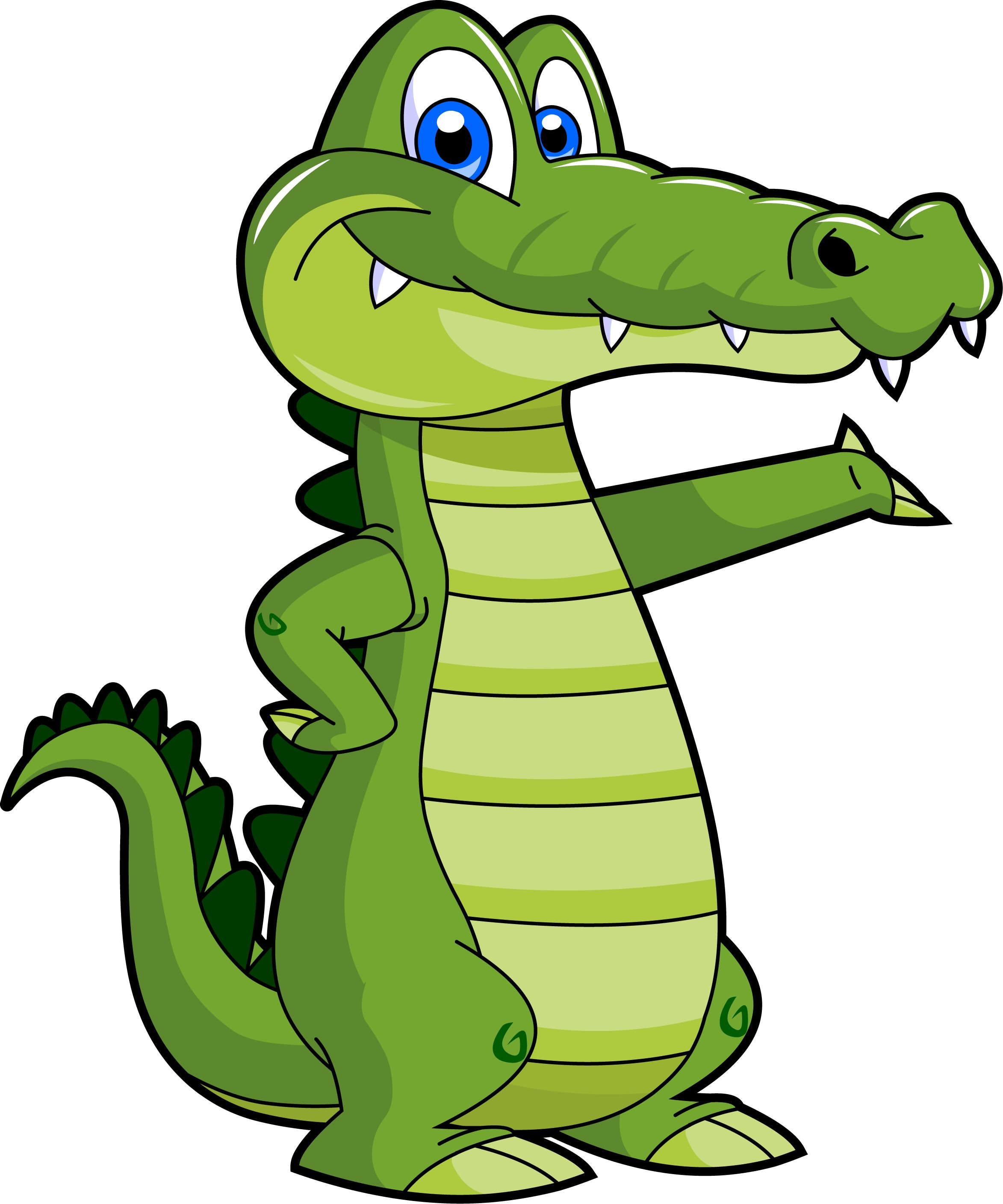 2346x2817 Clip Art Cartoon Crocodile Clip Art
