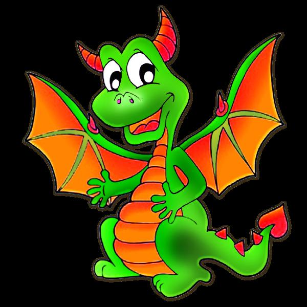 600x600 Cute Dragons Cartoon Clip Art Images.all Dragon Cartoon Picture