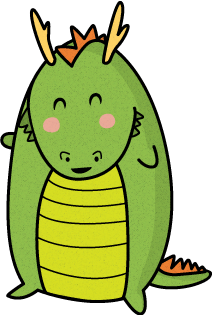 212x315 Collection Of Dragon Clipart Easy High Quality, Free