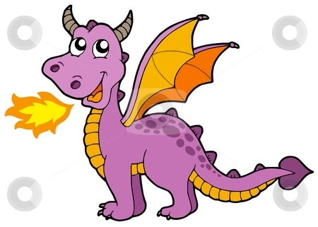 450x321 Collection Of Purple Dragon Clipart High Quality, Free