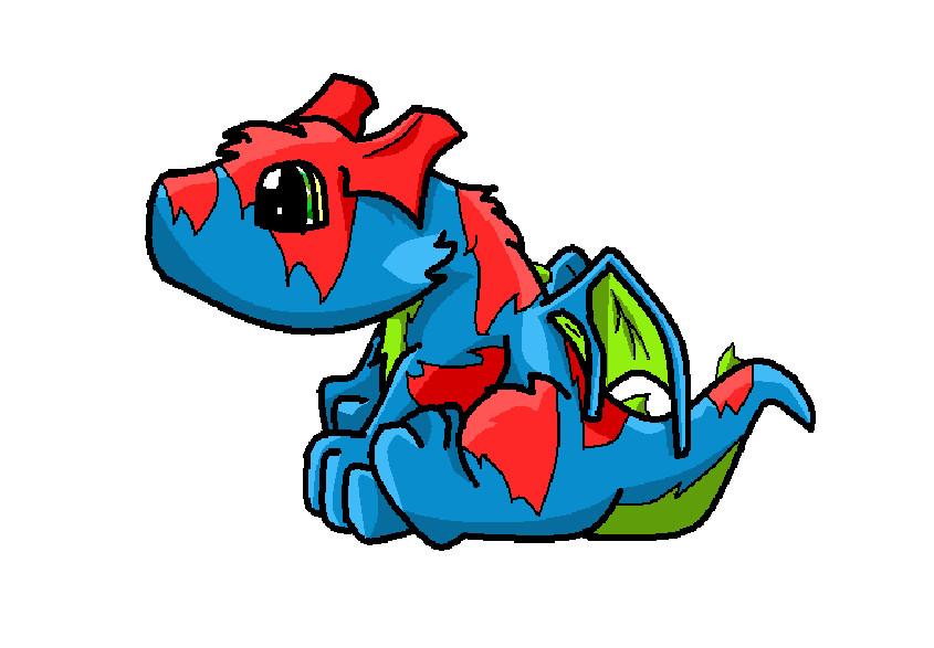 845x587 Blue Dragon Clipart Glitter