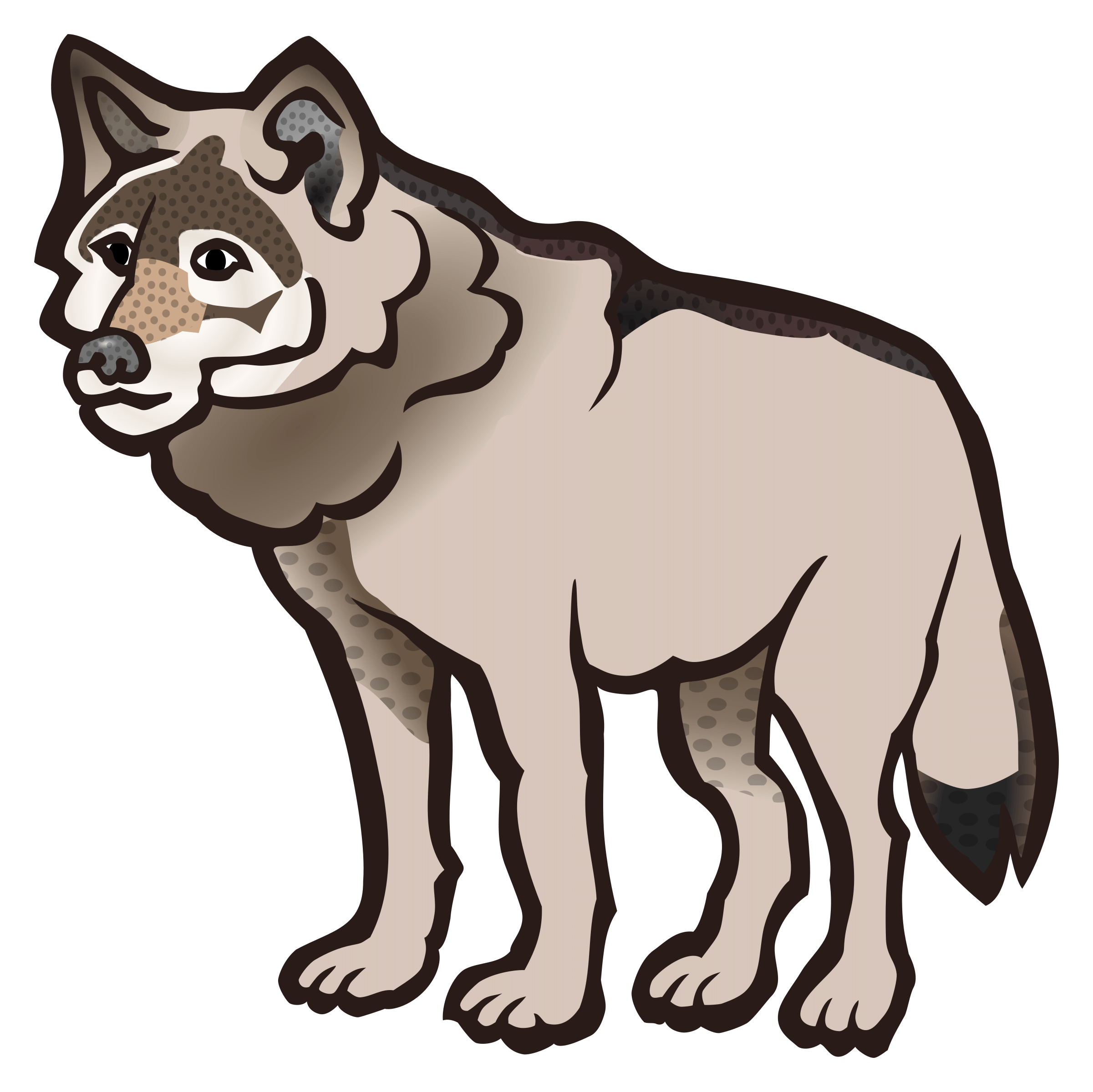 2401x2400 Wolf Cliparts