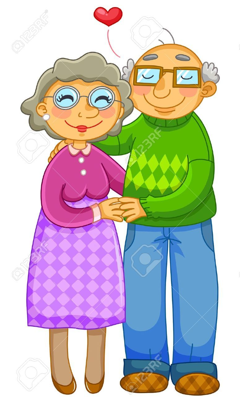 775x1300 Old Couple Hugging Lovingly Royalty Free Cliparts, Vectors,