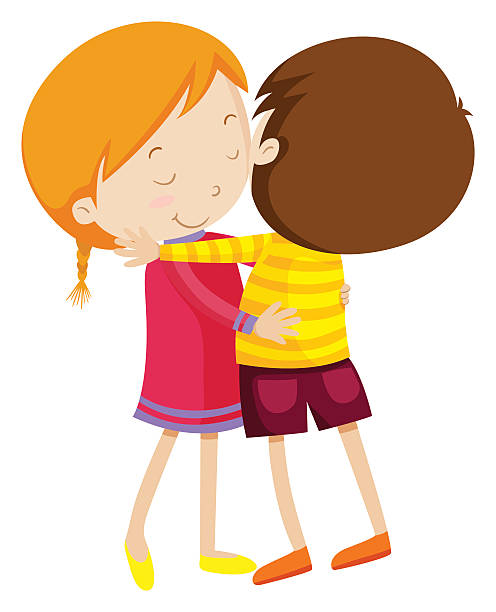 496x612 Pictures Kids Hugging Clip Art,