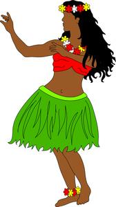 168x300 Hula Dance Clipart