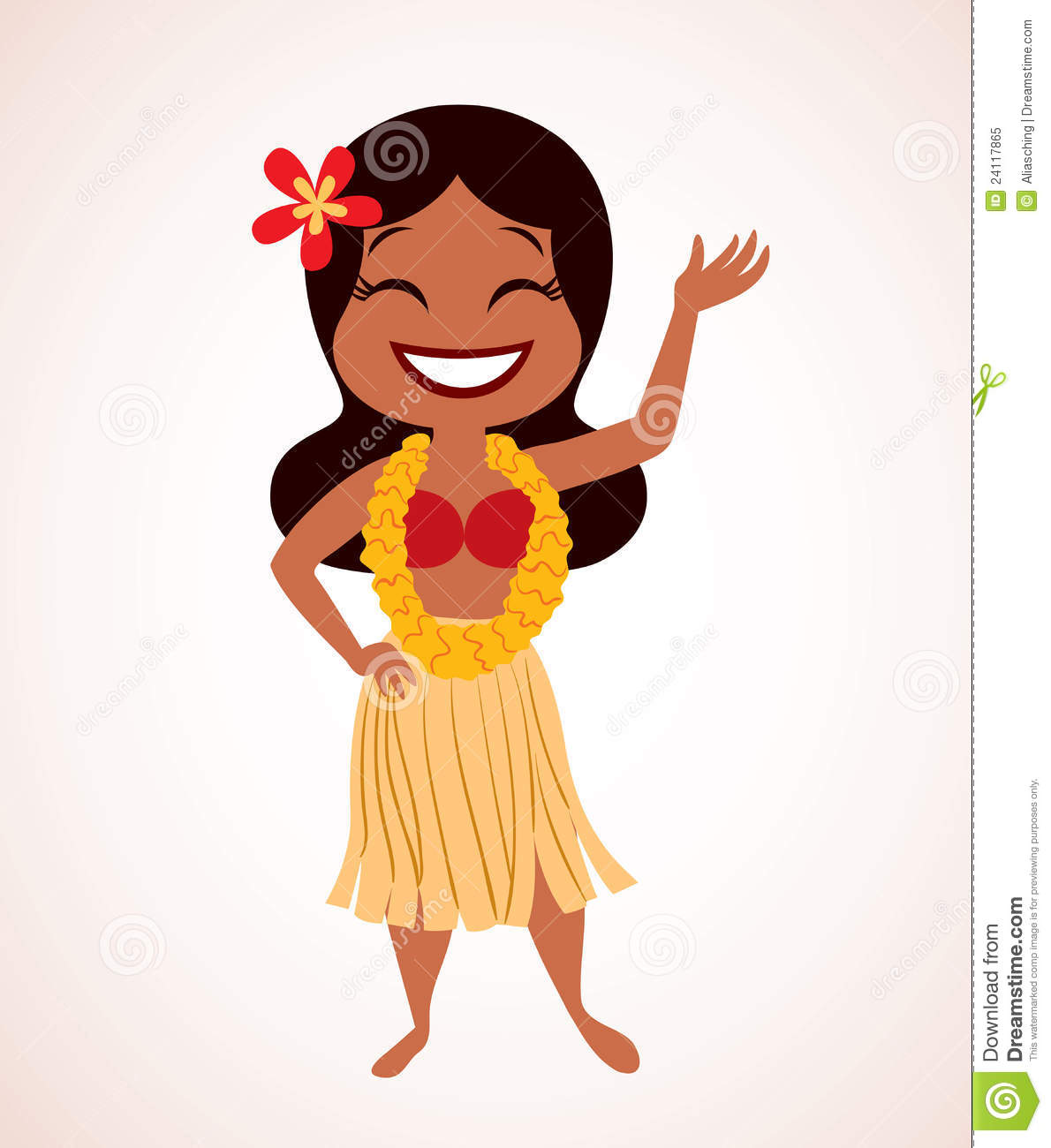 1190x1300 Hula Girl Clipart Clipartlook